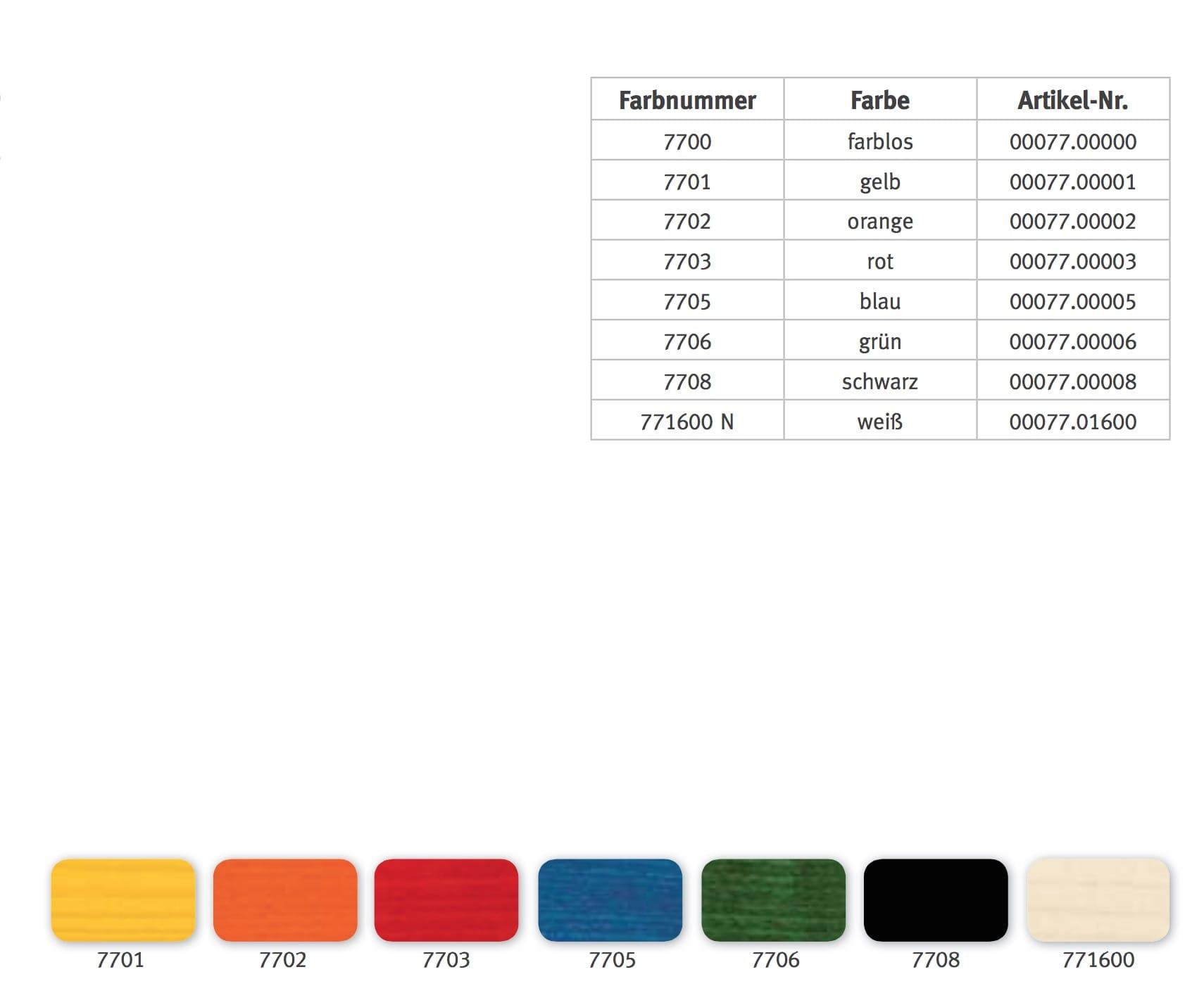 cloucolor-beize, farbnummer 7705 blau, 1,0 l   schleifwerk