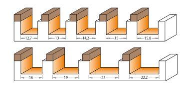 cmt kugellager anlaufring 9 5x4 76mm 3 2mm dicke 1 vpe 1stck schleifwerk. Black Bedroom Furniture Sets. Home Design Ideas