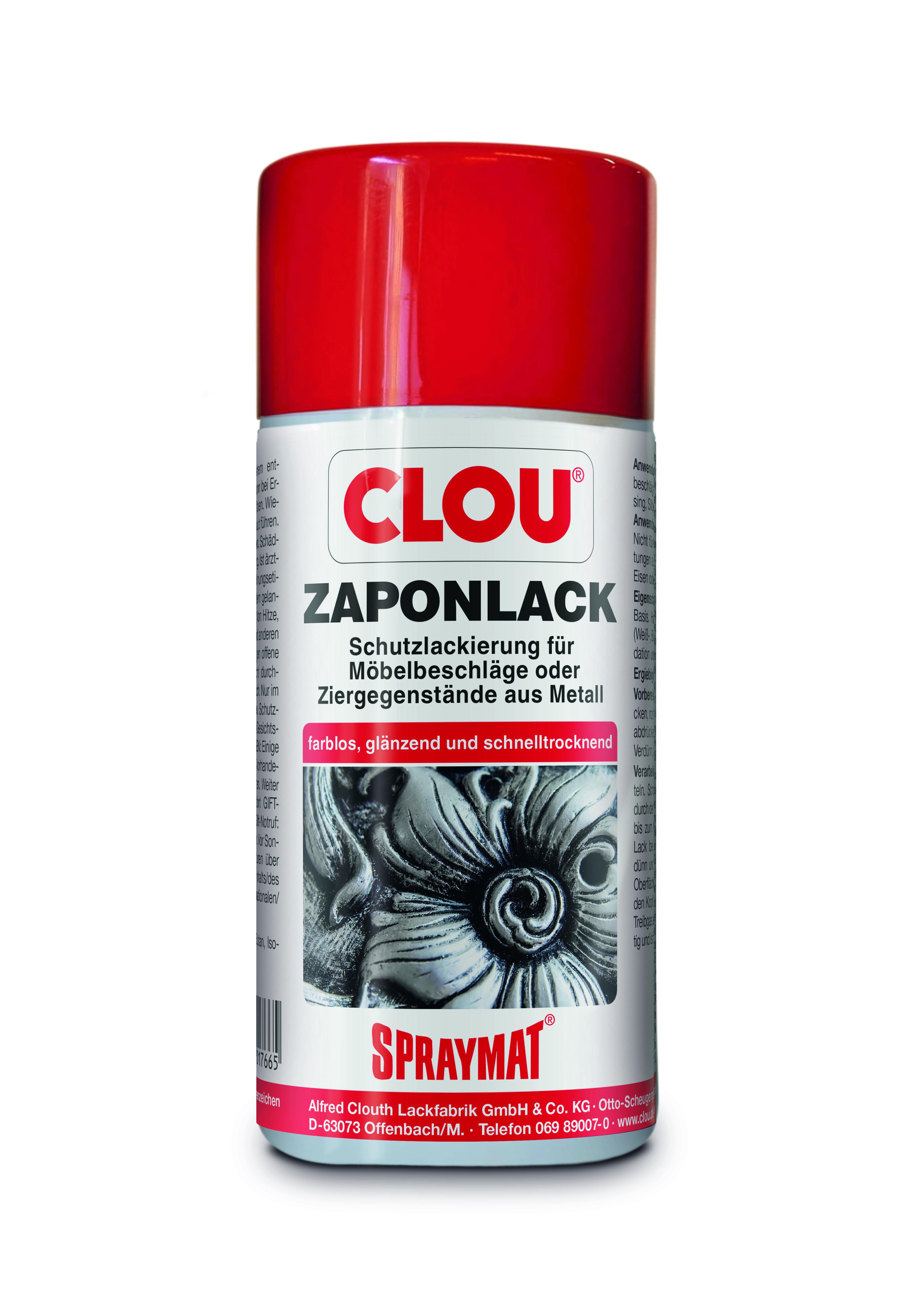 clou zapon-lack, 300 ml spraydose (nur in d lieferbar) | schleifwerk