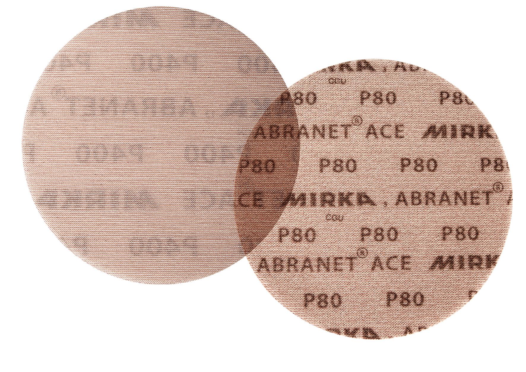 Mirka Abranet Gitternetz-Scheiben GRIP P80 Ø 77 mm 50 Stk.